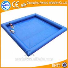 Atacado grande inflável praça piscina / grandes piscinas infláveis