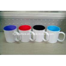 Sublimation Plastic Mug, Two Tone Sublimation Plastic Mug