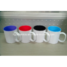 Пластиковая кружка для сублимации, двухтоновая сублимационная кружка