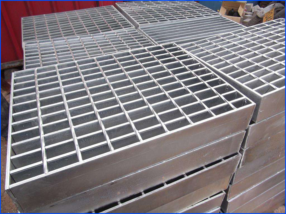 Forge-Welded Twisted Steel Grating