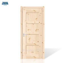 Porte simple en dalle de bois massif JHK