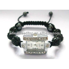 new products china suppliers crystal shamballa Man's Watch Bracelets