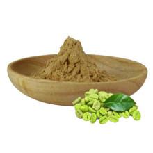 Extrait de grain de café vert à 50 % d'acide chlorogénique amincissant