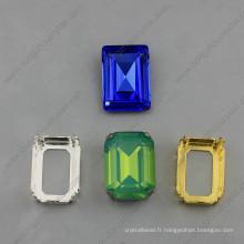 Pierres de fantaisie carrées Strass Beads Jewelry