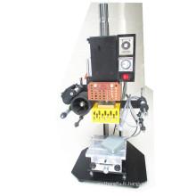 Tam-90-1 Petit papier d'artisanat en cuir et machine d'estampage à chaud en plastique