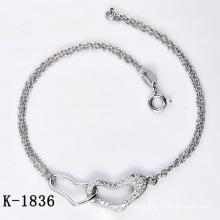 El micro de la plata de la manera pavimenta la joyería del ajuste de la CZ (K-1836. JPG)