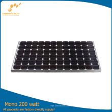 Panel solar de 200 vatios y 1000 vatios con alta eficiencia