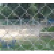 PVC revestido / galvanizado Chain Link Fence
