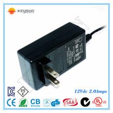 Bell Transformator 12V 2 Amp Stromversorgung Wechselstromadapter für Kamerasystem