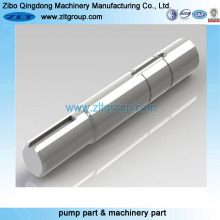 Eje de acero inoxidable para la industria de mecanizado y minería