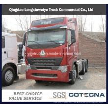 Camión del tractor de la calidad superior 340-460HP HOWO-A7 Euro II ~ IV