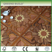 Productos de parquet de madera con diseño de girasol