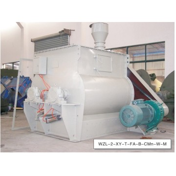 Paddle Type Horizontal Twin Shaft Mixer Machine for Feed Industry