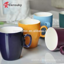 Двухцветная кружка для кофе эспрессо