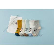 Diseños Gafas Little Girl algodón calcetines Street Fashion Styles Girl algodón calcetines