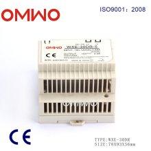 Omwo Wxe-30dr-5 DIN-Schiene Single Output Schaltnetzteil