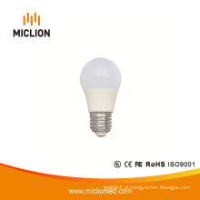 Luz de bulbo do diodo emissor de luz de 5W E27 Dimmable com Ce RoHS