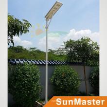 60W LED 60wsolar Panel Solar Street Light integrado todo junto Lámpara de calle solar LED