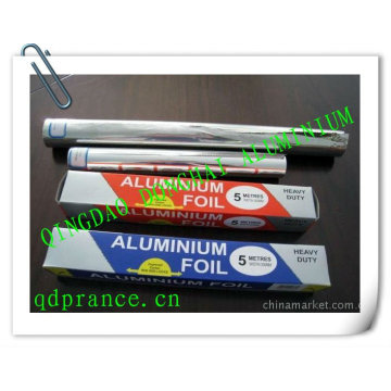 Feuillet en aluminium pour l'emballage alimentaire