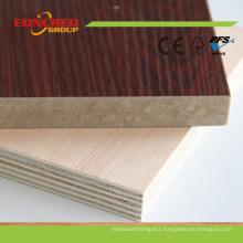 2016 Wood Grain Double Sides Melamine Laminated Plywood