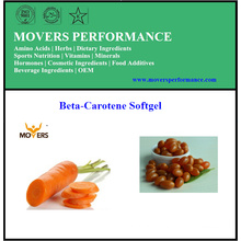 Hot Selling High-Quality Beta-Carotene Softgel