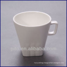 P&T porcelain square bottom coffee mug