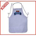 100% Cotton Cooking Küchenschürze für Promotion (kimtex-300)