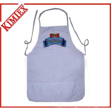 100% Cotton Cooking Kitchen Apron for Promotion (kimtex-300)