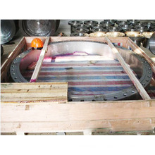 Brida grande trabajada a máquina CNC del acero de carbono de la forja