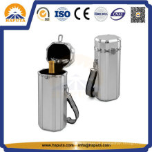 Mala de armazenamento mini alumínio para suporte do vinho (HQ-2020)