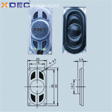 2040 altavoz de tableta mini altavoz 8ohm 1w