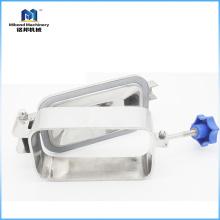 Edelstahl-Platz-Kanaldeckel-Behälter-Zusatz-Nahrungsmittelgrad mit Druck (Steuerung / pneumatisches Ventil)