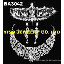 Collar de la joyería de la boda del diamante