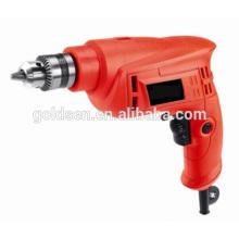 GOLDENTOOL 10 milímetros 400w Power Mini Hand Held Bore perfuração Drill Máquina de perfuração pequena portátil elétrica GW8255