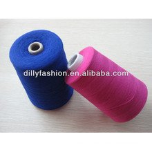 100% high quality wool cashmere yarn for knitting and weaving