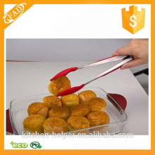 Highly welcomed new design top quality kitchen silicone tong