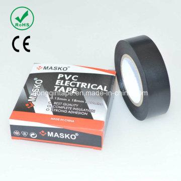 PVC-Elektro-Isolierband mit Gummi-Kleber für den elektrischen Schutz