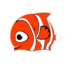 Tampas de natação de borracha dos desenhos animados encantadores impermeáveis