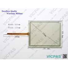 A0601033-E2 12 Reemplazo de vidrio de la pantalla táctil para MP177