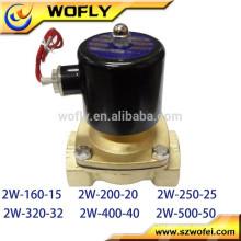 Válvula de solenóide de solenóide de válvula normalmente fechada para gasóleo de água
