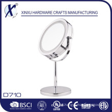 7 Inch 5X Magnification Lighted Bathroom Mirror