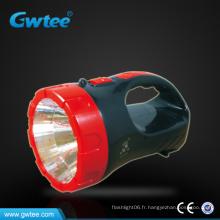 Fabriqué en Chine portatif Lampe de recherche à led longue portée rechargeable