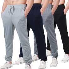 Hombre Jogger Sports Training Sweat Pants Golf Trousers