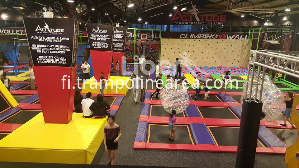 trampoline park indoor price