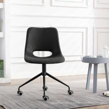 Поворотный офисный стул классической формы для домашнего офиса