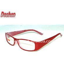 clear plastic frame reading glasses