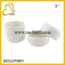 3OZ White Melamine Round Ramekins