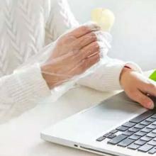 Профессиональные одноразовые перчатки PE для пищевого или медицинского класса