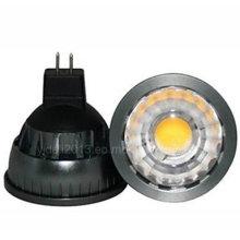 Dimmable MR16 5W Epistar COB 500lm Blanco cálido LED Spot bombilla