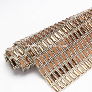 Sparkling Diamond Mesh Wrap Roll 5x15mm